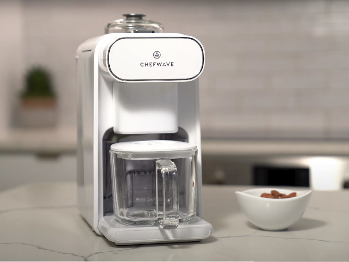 ChefWave Milkmade nondairy milk maker takes only 15 minutes
