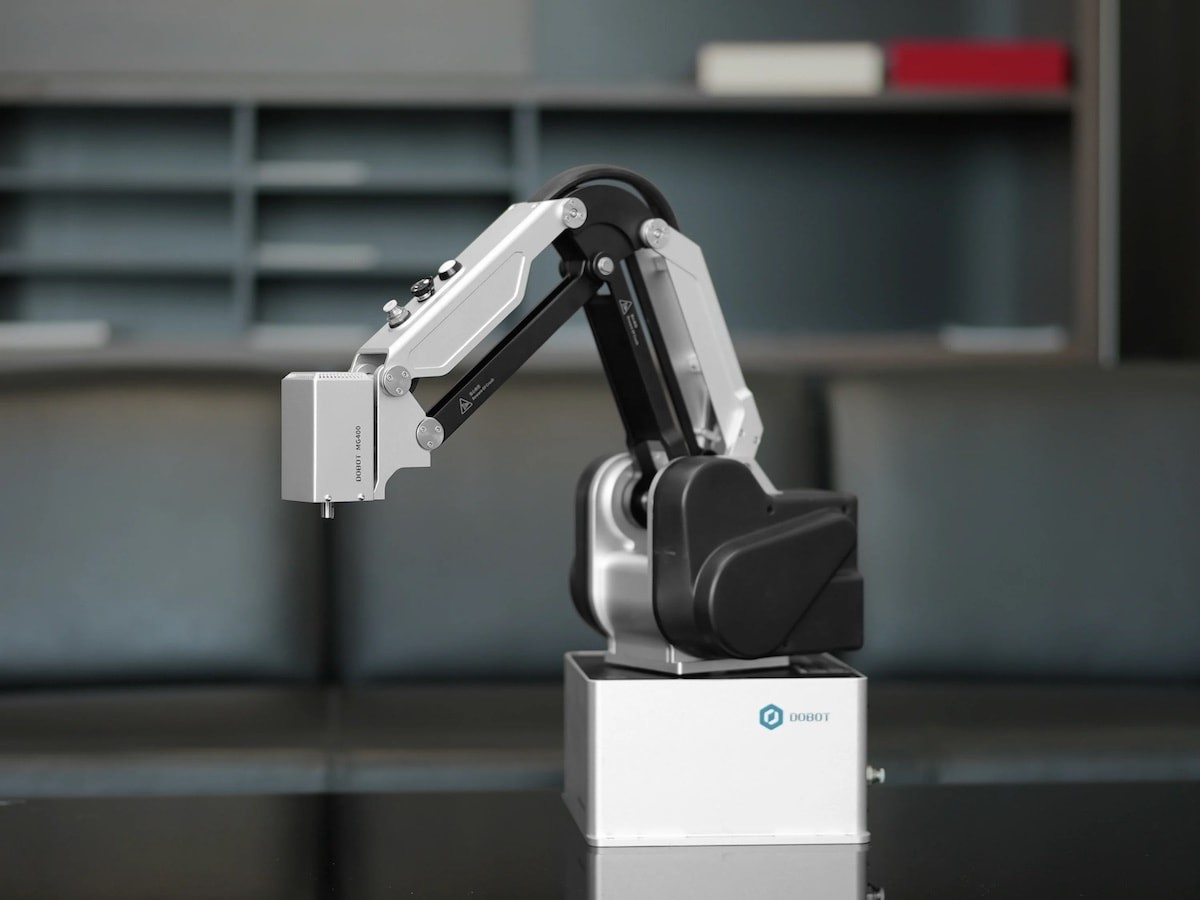 DOBOT MG400 desktop collaborative robot is a cost-effective business solution