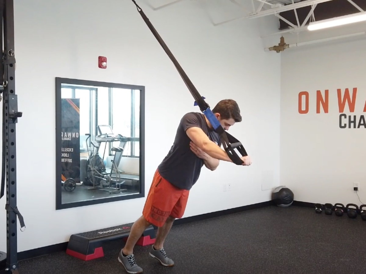 EDGE Suspension Trainer home rehab system takes your fitness to the next level