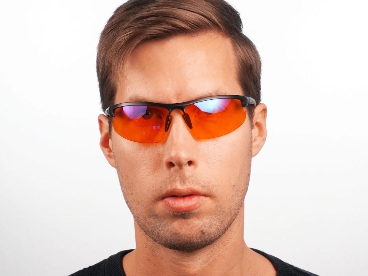 EliteX advanced blue light glasses protect your eyes from harsh blue light before bedtime