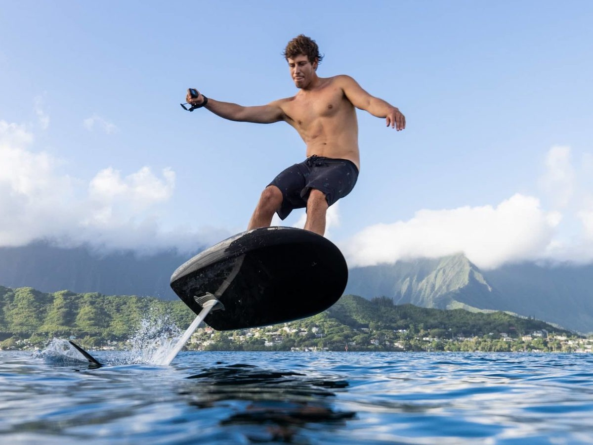 Fliteboard eFoil Series 2 electric water board comes with some user-friendly upgrades