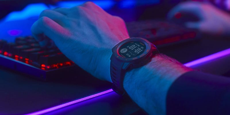 Garmin Instinct Esports Edition Gaming Smartwatch