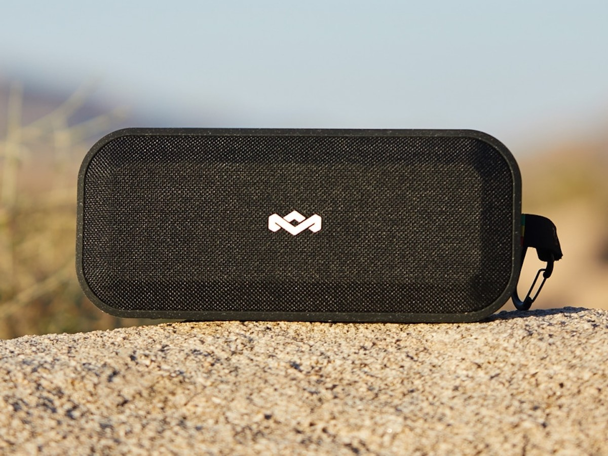 House of Marley No Bounds XL Bluetooth speaker is waterproof & has a 16-hour battery life