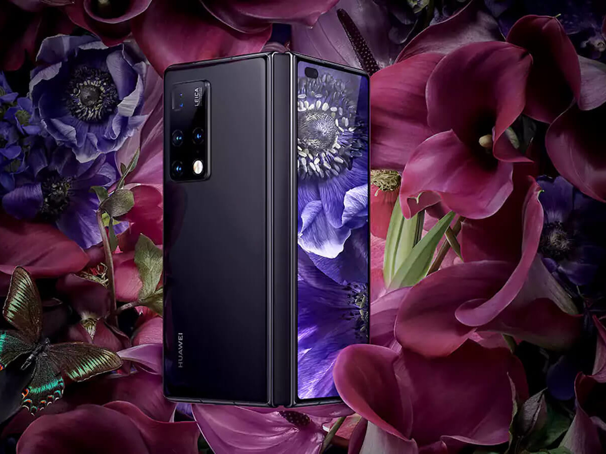 Huawei Mate X2 foldable phone expands its screen from 6.45″ to 8″ diagonally