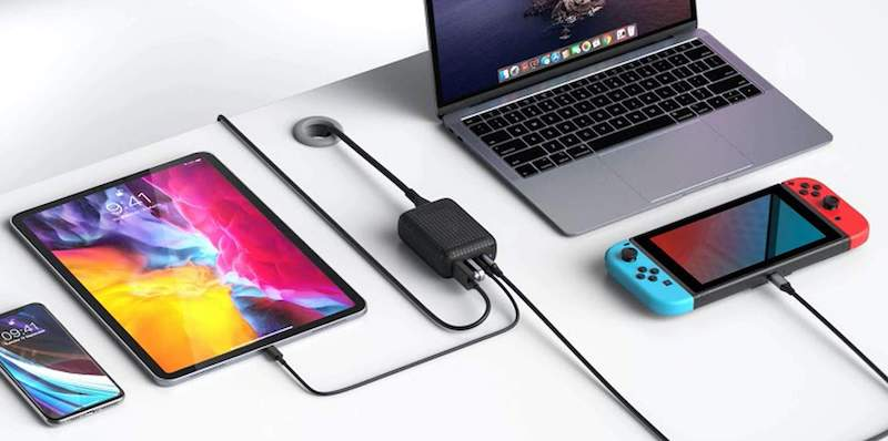 HyperDrive 60W USB-C Power Hub for Nintendo Switch