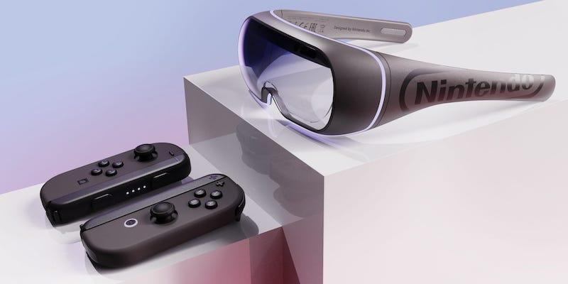 James Tsai Nintendo Switch Joy-Glasses VR gaming goggles