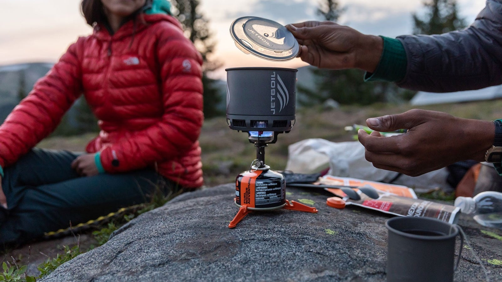 Jetboil Stash standalone stove lets you prepare and cook meals in the great outdoors
