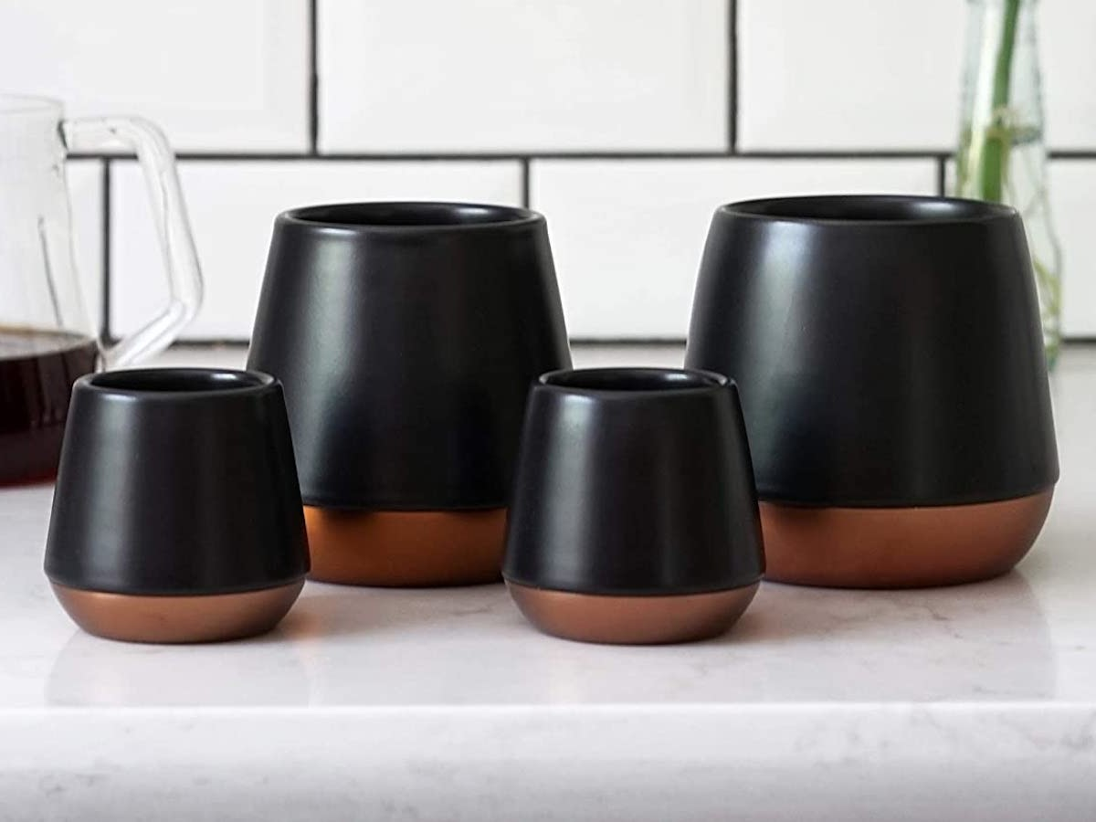 Fellow Joey Double Wall Ceramic Mugs remain cool on the outside to not burn your hands