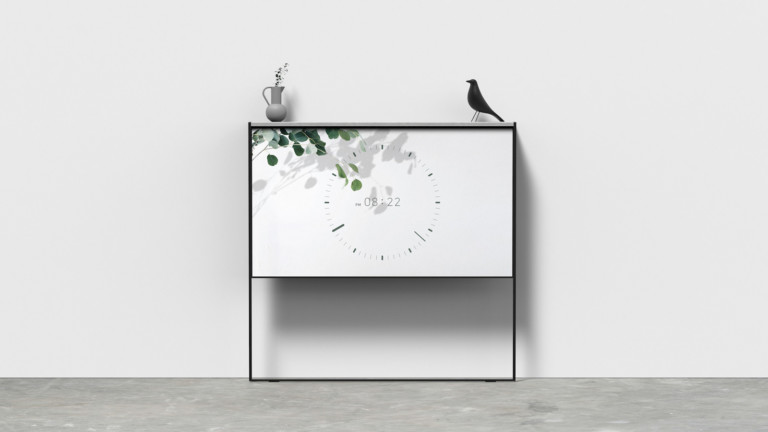 """Joonhyuk Hong Rollean concept TV blends into your <em class=""""algolia-search-highlight"""">home</em> with a useful shelf"""