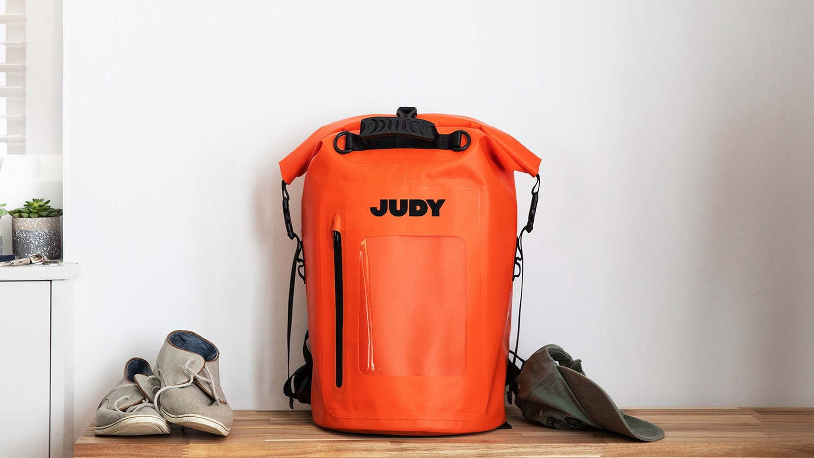 Judy The Mover Max evacuation-ready kit can support a family of 4 for up to 72 hours