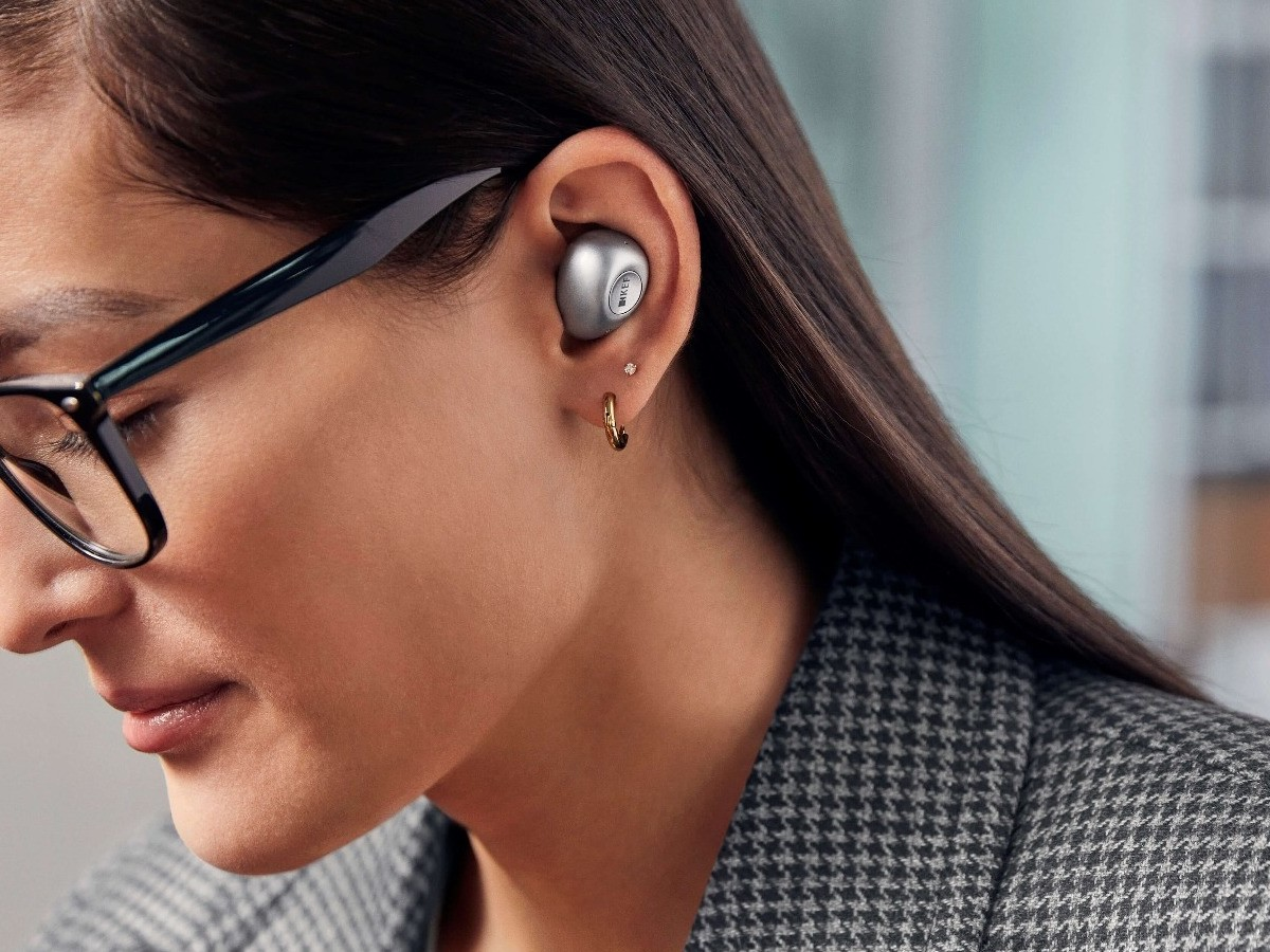 KEF Mu3 wireless earphones deliver pure, accurate sound—even while you're on the move