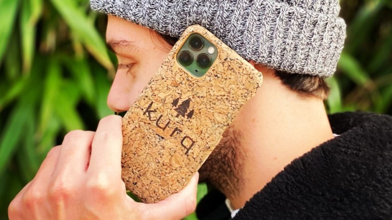 This eco-friendly phone case is good for the planet