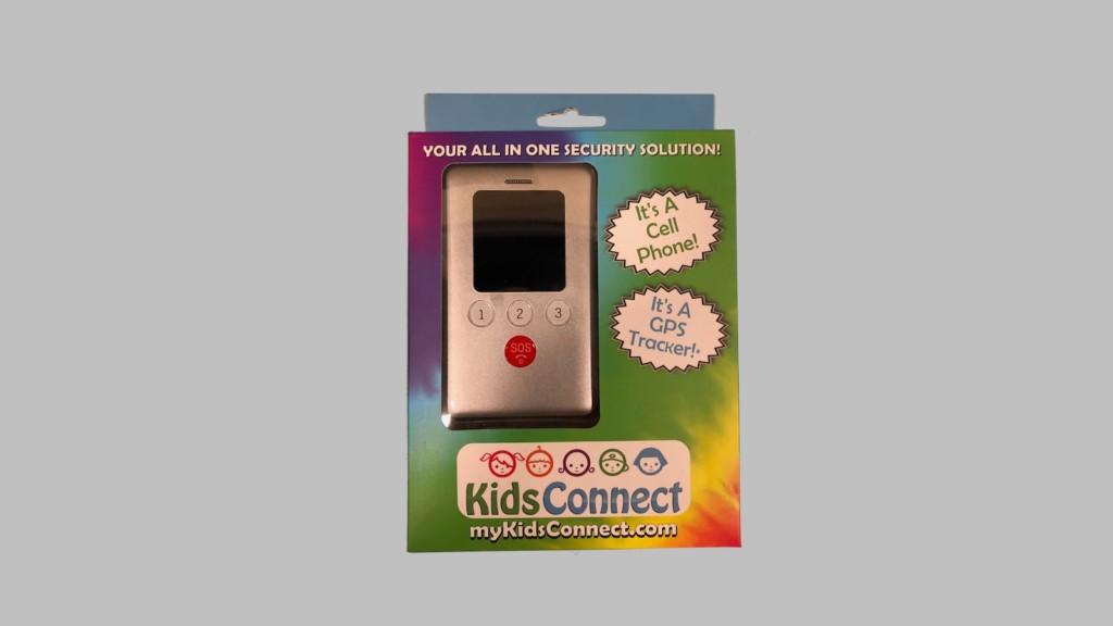 KidsConnect KC2 kids' GPS tracker phone