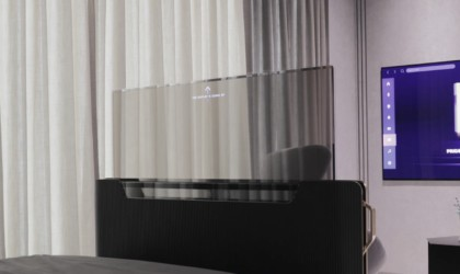 LG Display Transparent OLED TV concept