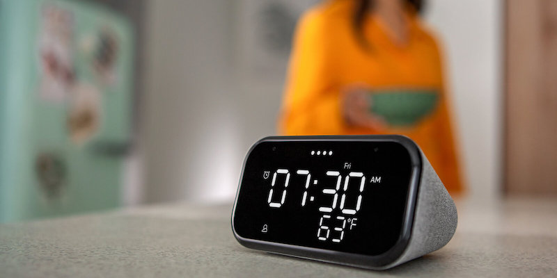 Lenovo Smart Clock Essential voice-assistant clock questions