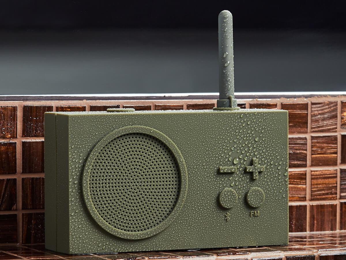Lexon Tykho 3 FM radio has a retro design with modern features