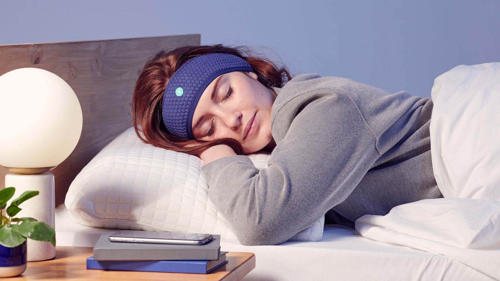 HoomBand audio bedtime headband plays guided meditations and more to help you fall asleep