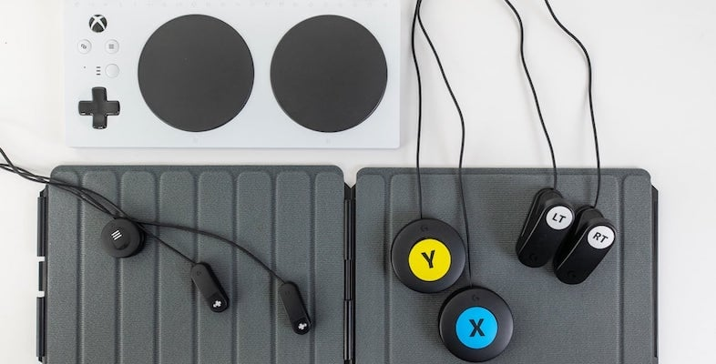 Logitech G Adaptive Gaming Kit Customizable Controller