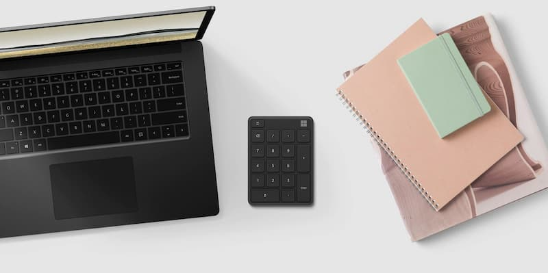 Microsoft Number Pad keyboard accessory