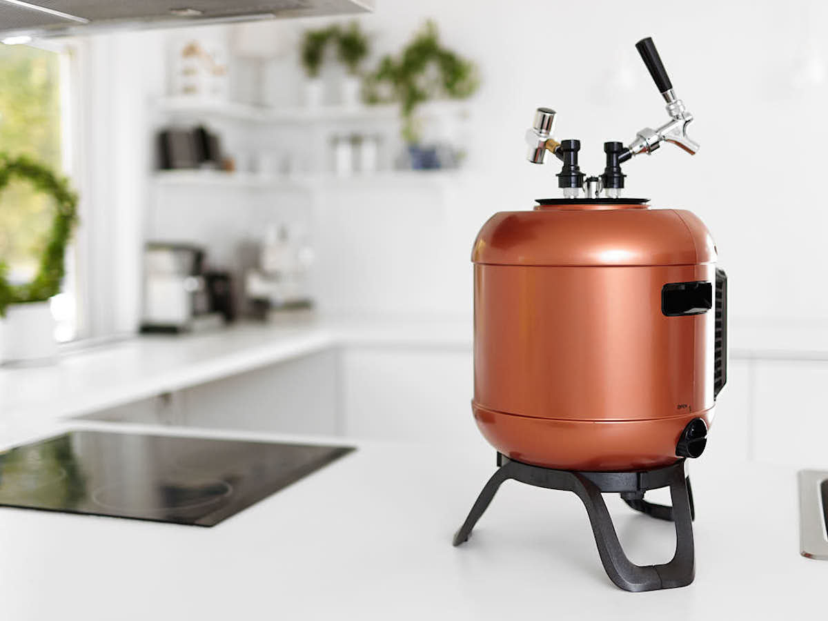 MiniBrew Craft smart beer machine is an all-in-one brewer