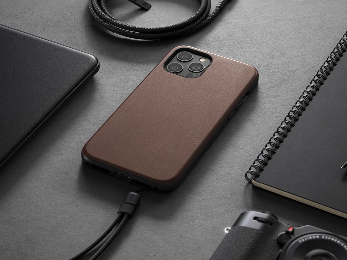 NOMAD iPhone 12 Series Rugged Case has a 10′ drop protection and absorbs shocks