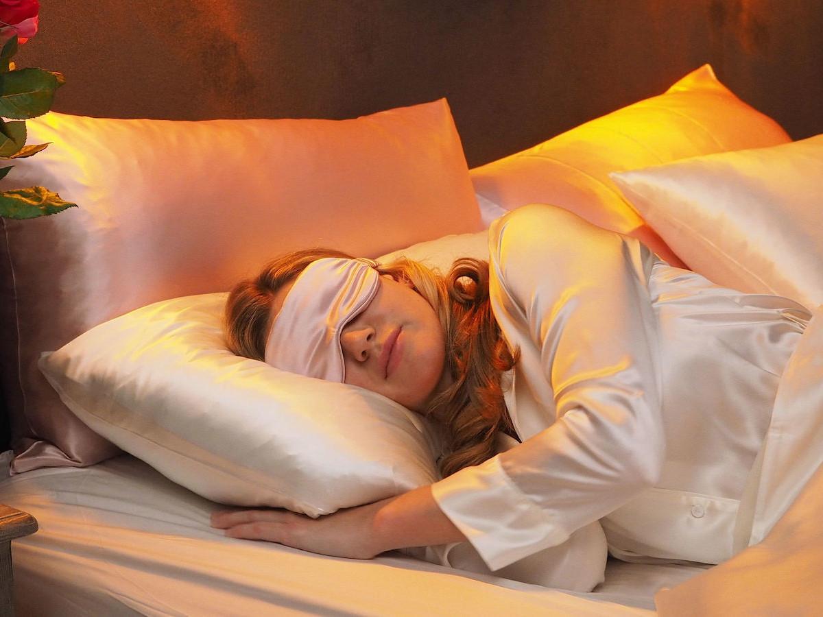 Nitya London luxurious silk bedding balances luxury, breathability, and durability