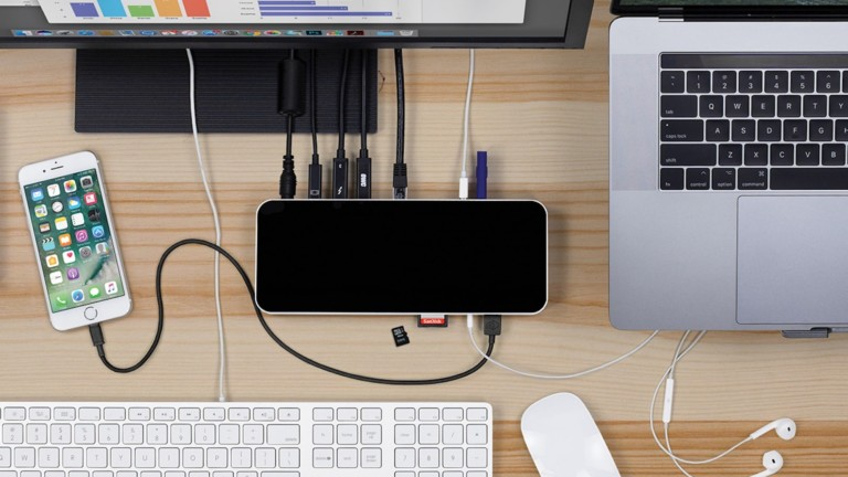 This new Thunderbolt 3 dock has all the ports you need to work better