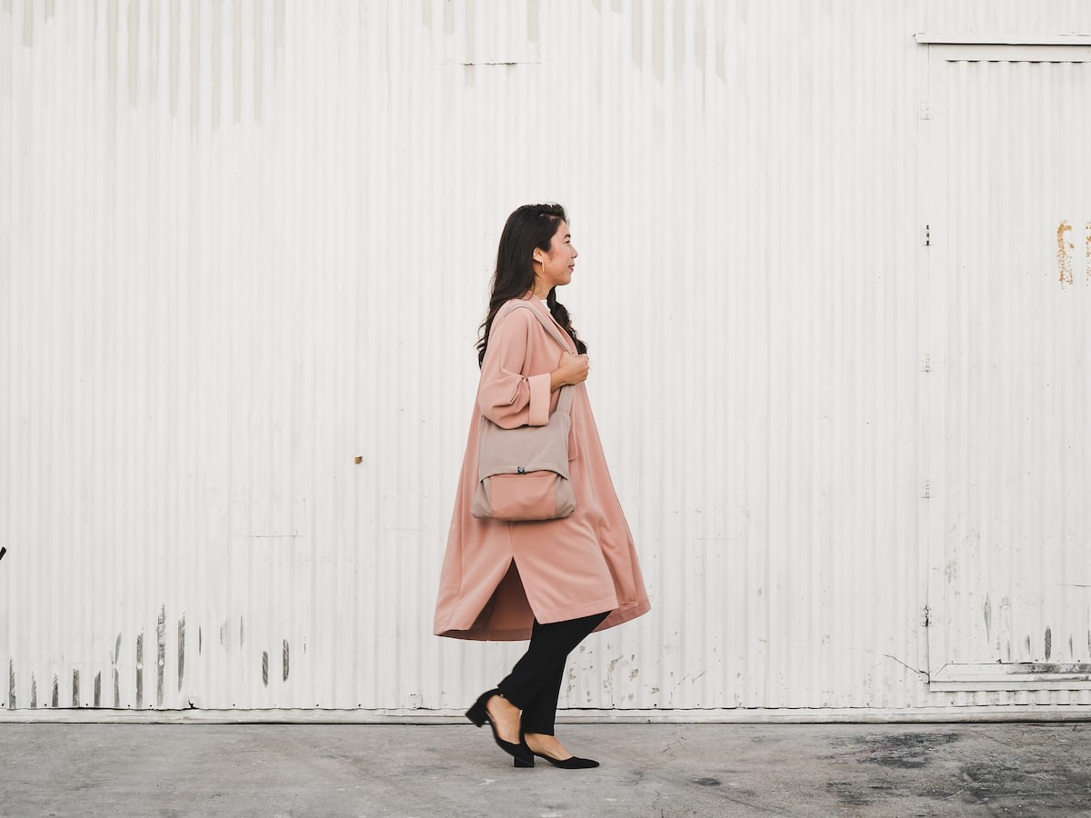 Orimei packable coat is made for on-the-go women