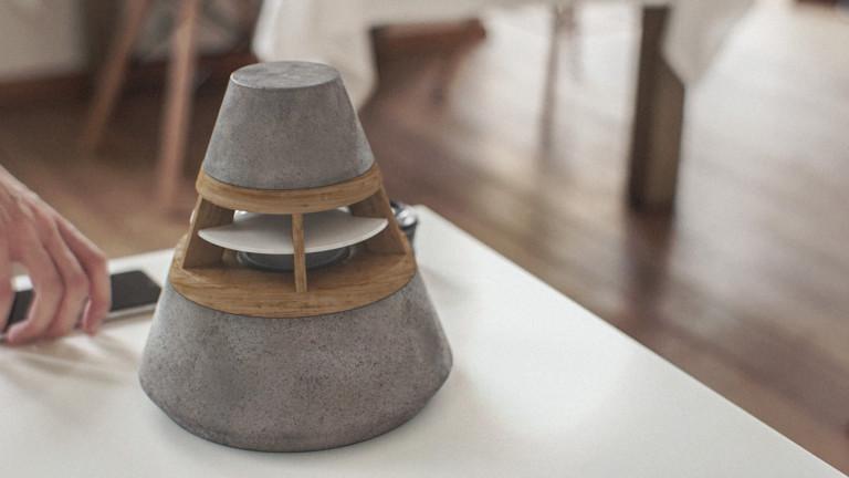 "HEVI 360-degree modular concept <em class=""algolia-search-highlight"">speaker</em> boasts a warm aesthetic & modern temperament"