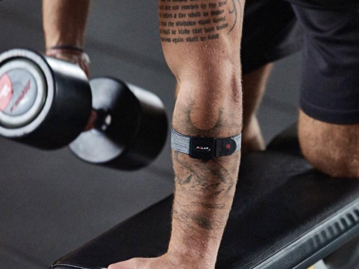 Polar Verity Sense optical heart rate monitor tracks how hard you work out