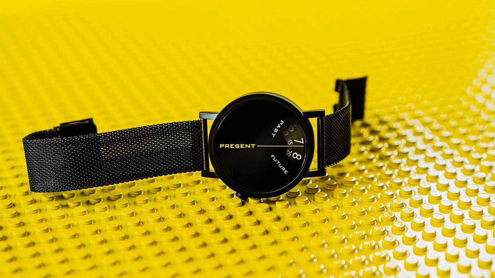 Projects Watches Past, Present, and Future Black 40 mm watch