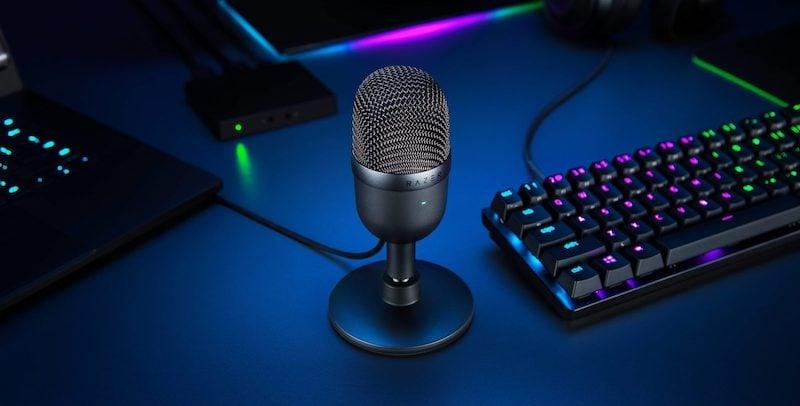 Razer Seiren Mini portable microphone