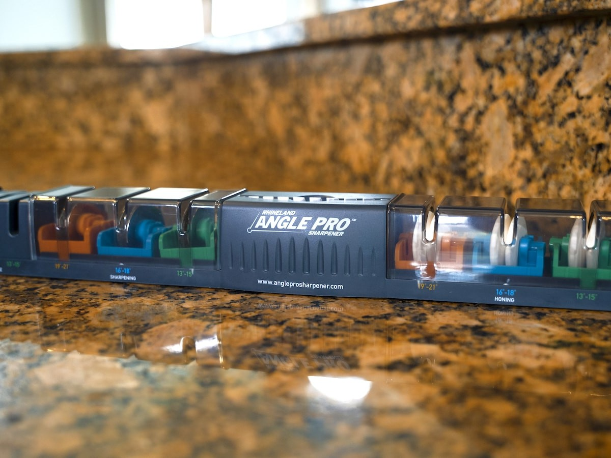 Rhineland Angle Pro Blade Sharpener provides the right fit for every knife