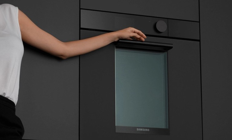 Samsung's dual oven gets a matte upgrade