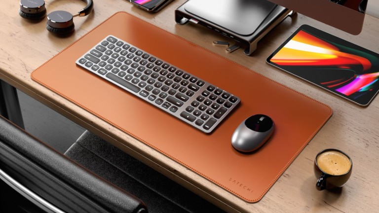 Satechi Eco-Leather Deskmate desk mat is both versatile and waterproof
