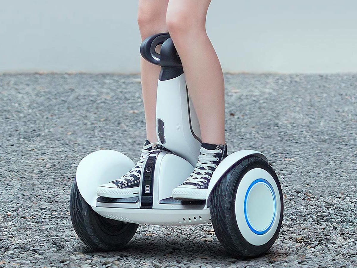Segway S-PLUS electric transporter has a top speed of 12 mph & a 22-mile range