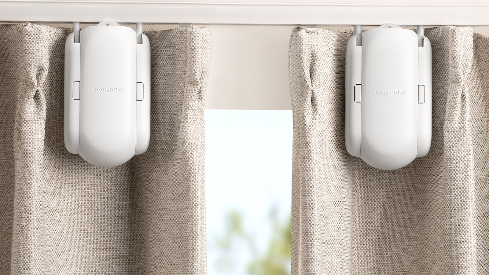 SwitchBot Smart Curtain lets you schedule when your curtains open and close