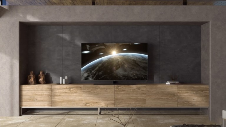 TCL 8-Series Roku TV boasts QLED color technology and Dolby Atmos sound