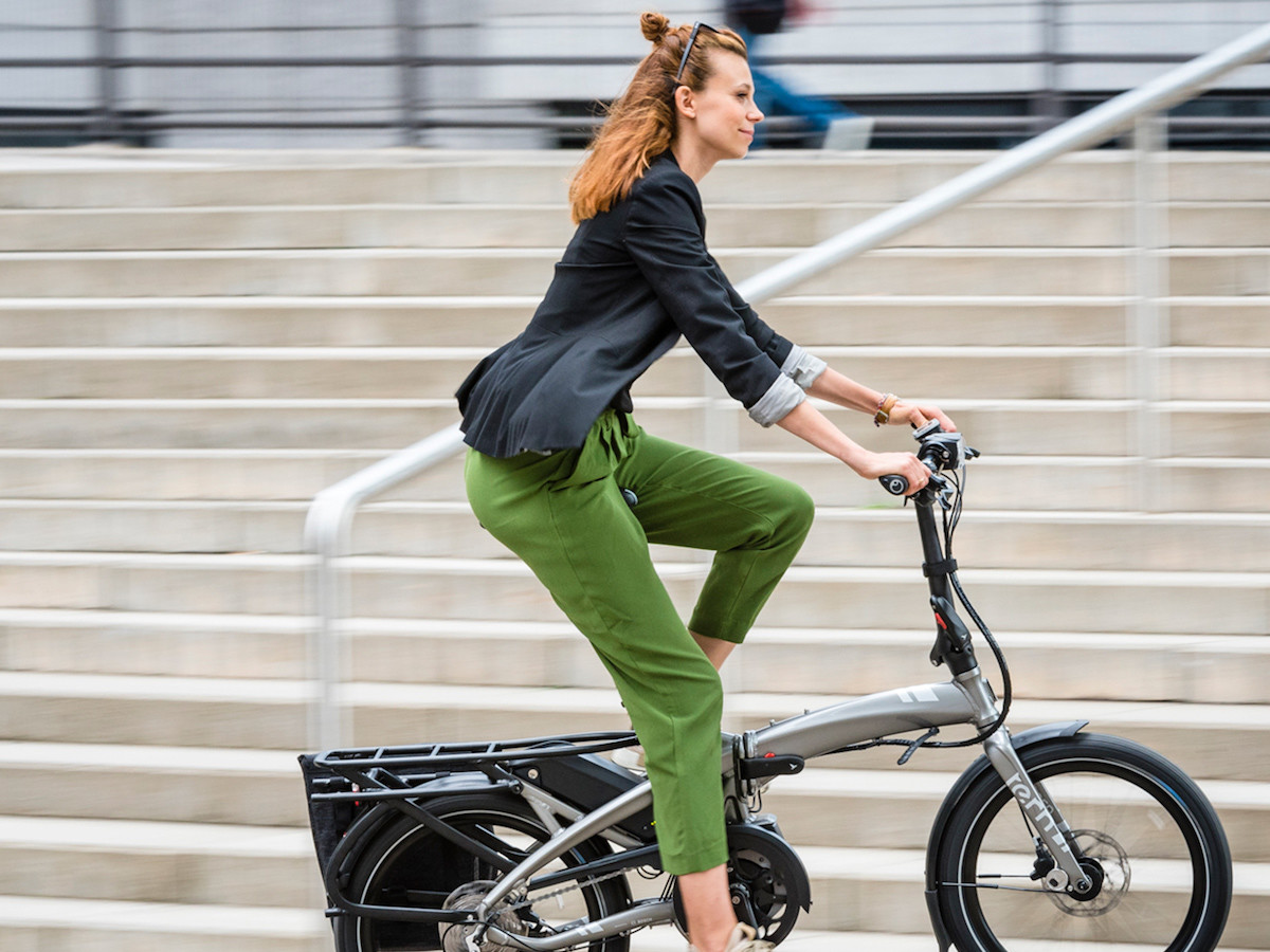 Tern Bicycles Vektron eBike series folds away in 10 seconds