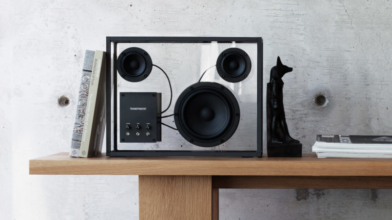 "Transparent <em class=""algolia-search-highlight"">Bluetooth</em> Loudspeaker has a timeless design that's stripped back"