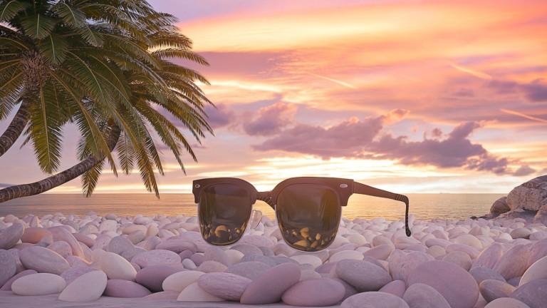 TwentySevenDays durable sunglasses have a sustainable design