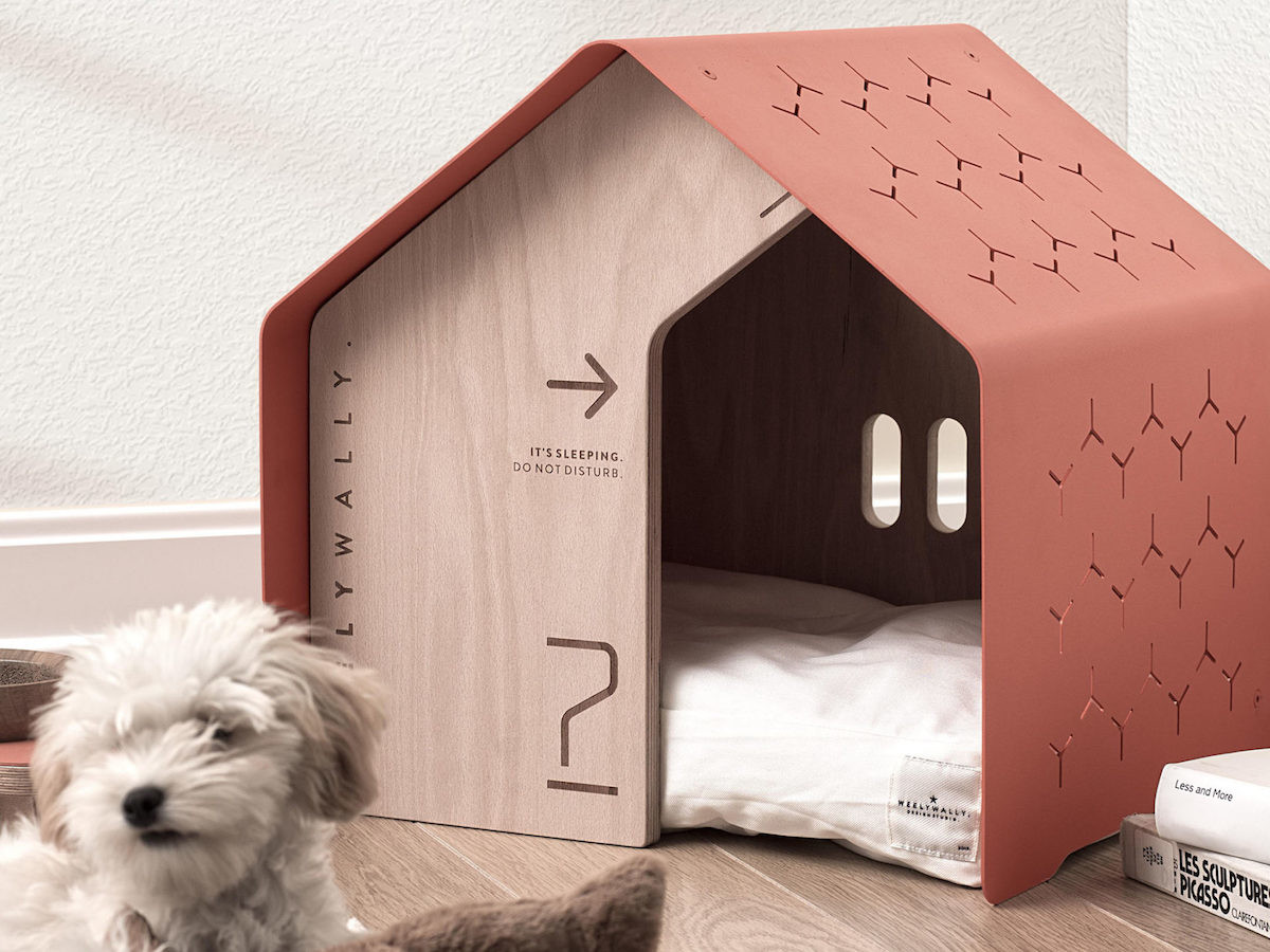 Weelywally sydney. pet bed collection is a cozy space for dogs and cats to sleep