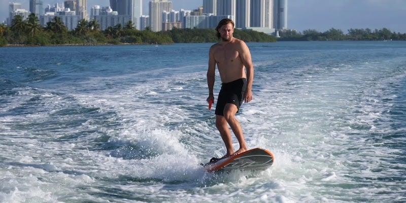 Yujet Surfer Jet-Powered Surfboard