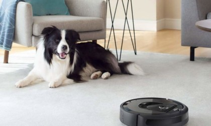 iRobot Roomba i7+ Wi-Fi Connected Robot Automatic Dirt Disposal Vacuum