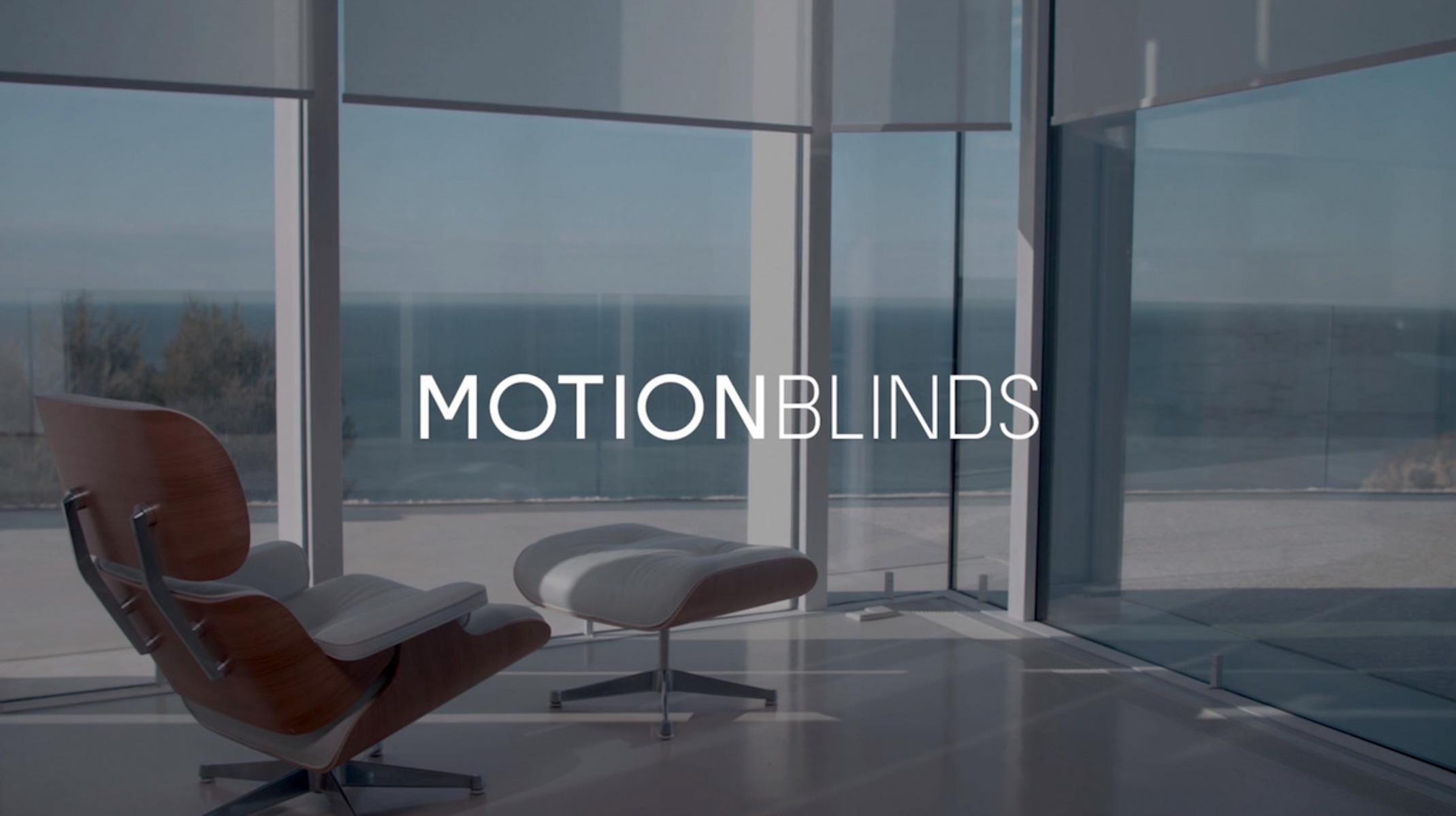 HomeKit-compatible smart window blinds