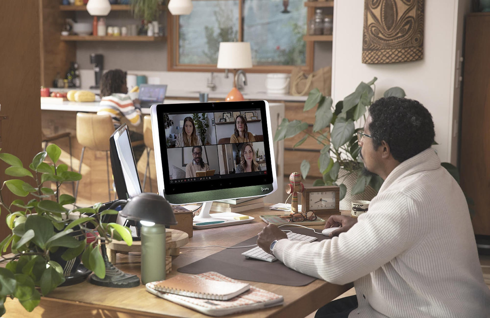 Poly's new videoconferencing monitor is a remote worker's dream