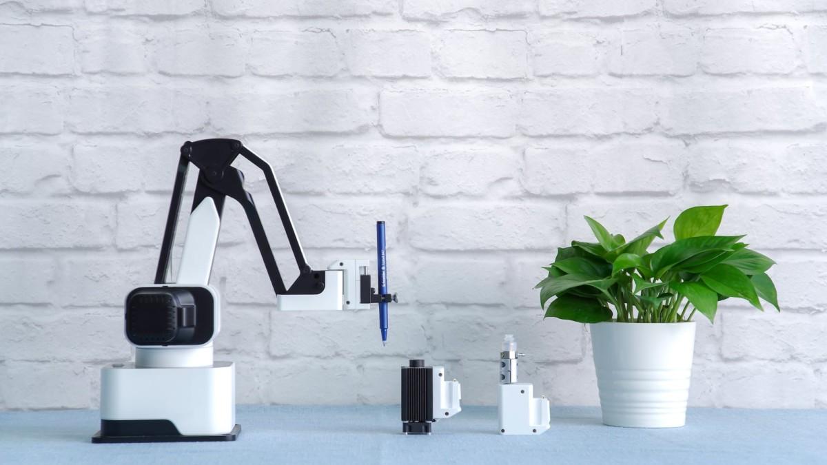 Meet Rotrics—a modular all-in-one desktop robot arm