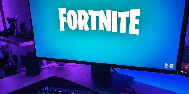 Fortnite game loading on a gaming setup / Credits: Vlad Gorshkov via Unsplash
