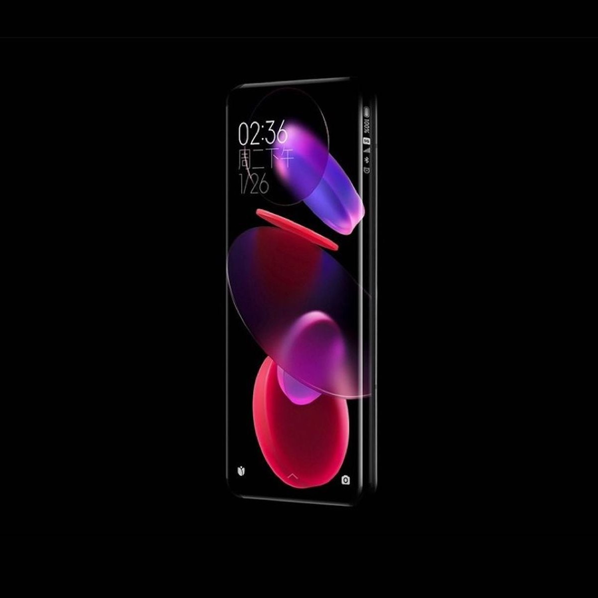 The new concept smartphone from Xiaomi has a quad-curved waterfall screen thumbnail