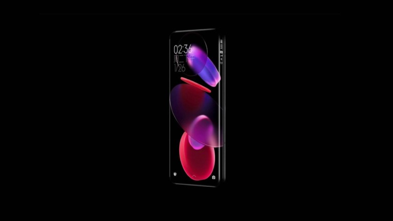 The new concept smartphone from Xiaomi has a quad-curved waterfall screen